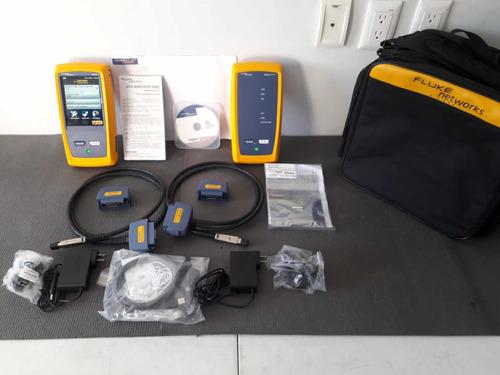 pruebas de cableado utp con fluke networks dcx800 calibrado