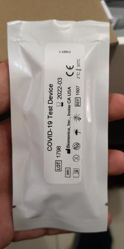 pruebas rápidas de covid-19 ( biomerica-eeuu )