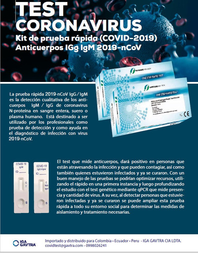 pruebas rápidas para covid marca safecare biotech