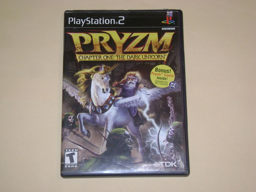 pryzm chapter one the dark unicorn  playstation 2 seminuevo
