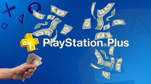 ps plus 1 mes ps4 $10 psn playstation promocion *no codigo*