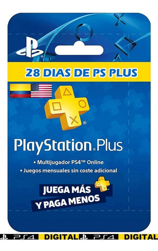 ps plus 28 dias - playstation plus | ps4
