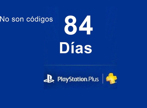 ps plus 3 meses (86 dias) 49 días ps now ps4