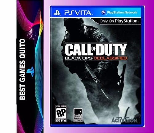 ps vita call of duty juego físico nuevo original