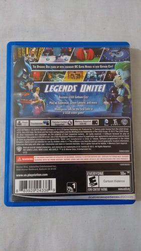 ps vita - lego batman 2 dc super heroes na caixa