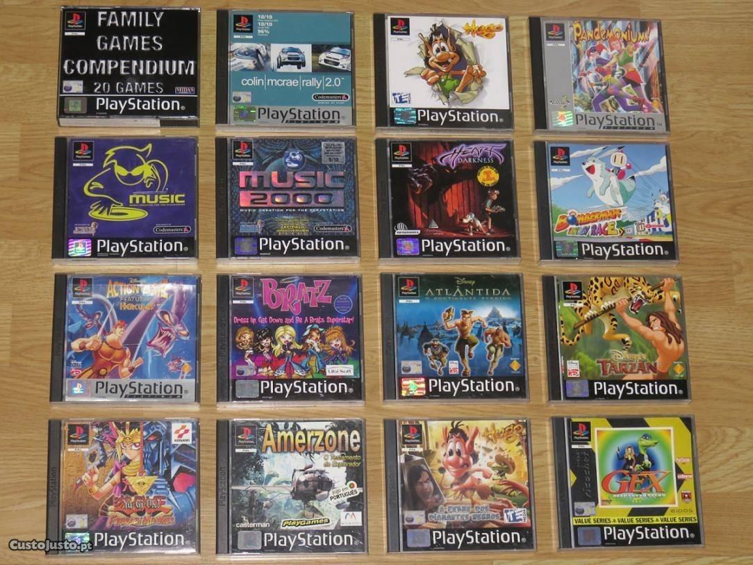 Ps1 1250 Jogos Todos Os Jogos 100% Completo Em Link Individual Ou Todos A  Sua Escolha