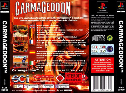 ps1 - carmagedoon - patch