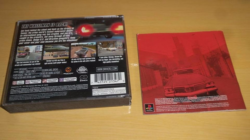 ps1 driver 2 original black label completo excelente confira