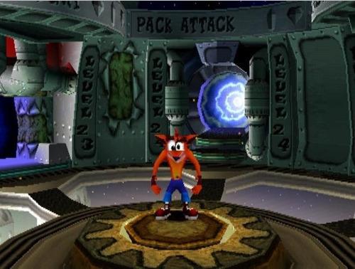 ps1 juego crash bandicoot