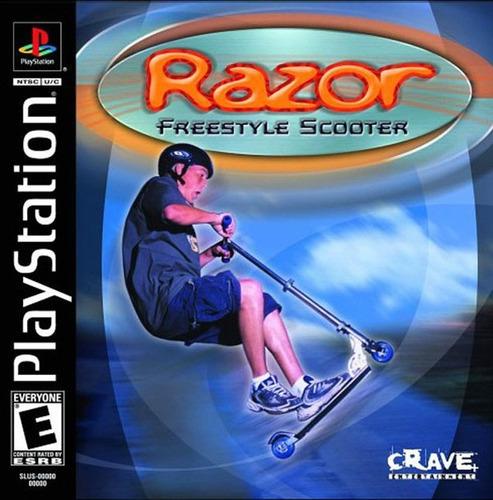 ps1 juego razor freestyle scooter ***tiendastargus***