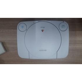 Ps1 Playstation 1 Com Caixa (original) + 5 Jogos
