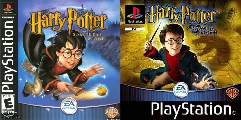 Ps1 Saga Harry Potter 2 Juegos Para Playstation 1 55 00 En
