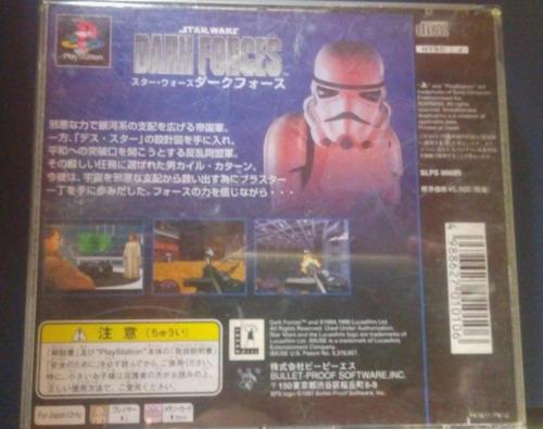 ps1 - star wars dark forces - original  japonês