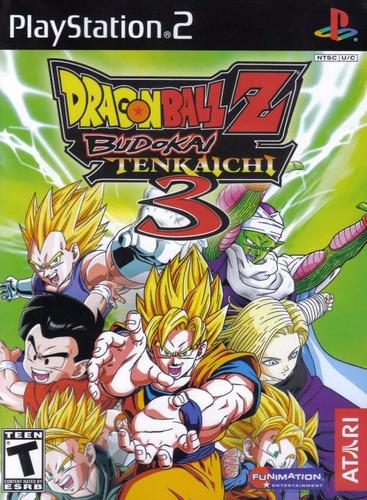 [ps2] dragon ball budokai tenkaichi (6 juegos)-coleccionista