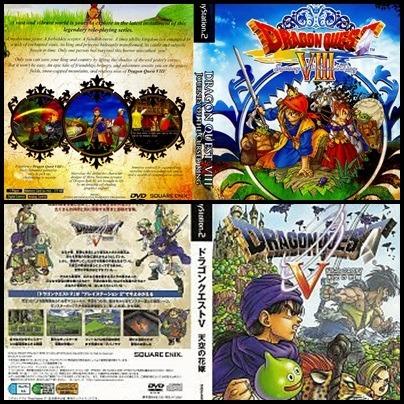 Ps2 - Dragon Quest - 2 Dvds - Patch Desbloqueado