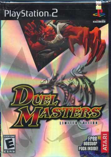 ps2  duel master  nuevo