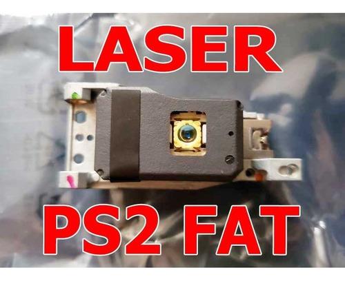 ps2 fat laser nuevo! playstation 2 arreglo laser original