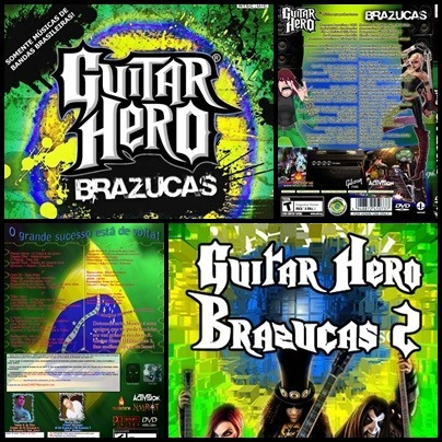 Ps2 - Guitar Hero Brazucas - 2 Dvds - Patch Desbloqueado