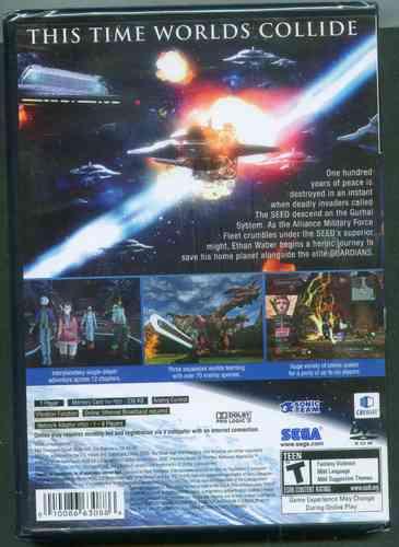 ps2  phantasy star universe  nuevo  envio gratis