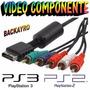 Cable Componente Ps2 Y Ps3 De Alta Definicion Fenix Games Dx