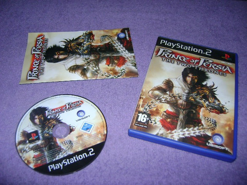 ps2 - prince of persia the two thrones