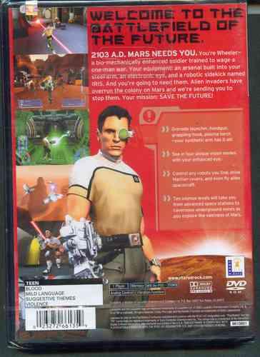 ps2  r t x  red rock   nuevo  envio gratis