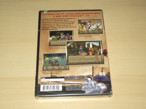 ps2 - wild arms 3 (americano)