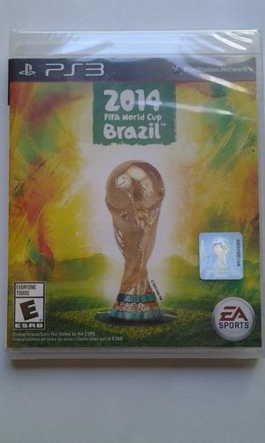 ps3 2014 fifa world cup brazil $299 pesos nuevo mikegames