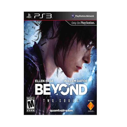ps3 beyond two soul original nuevo fisico sellado
