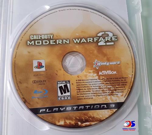 ps3 call duty modern warfare