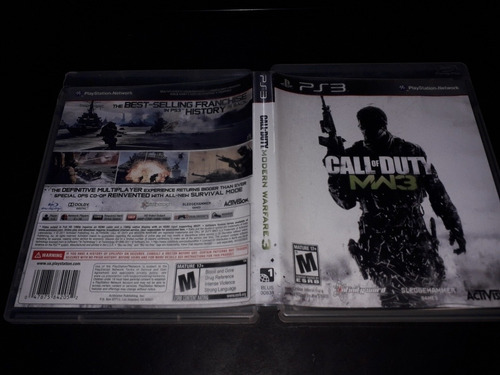 ps3 call of duty mm3