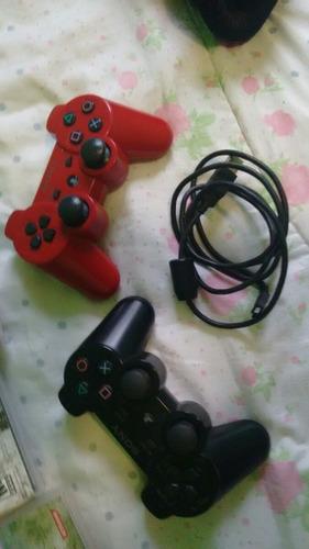 ps3 com 2 controles  gratis 8 jogos