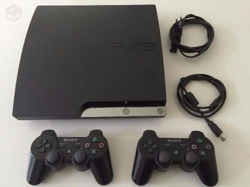 ps3 con chip 1000 gb y full juegos a su eleccion 2 controles