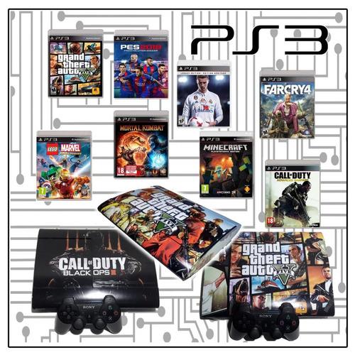 ps3 con juegos 35 full/500gb/1joystick/la mejor!!!