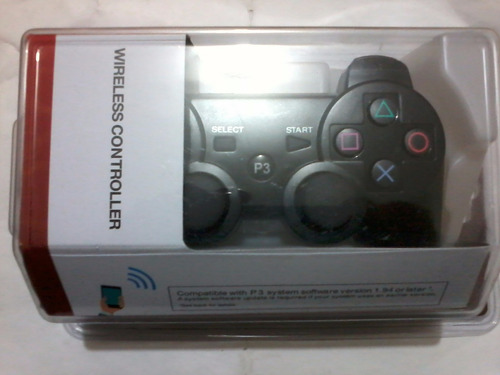 ps3 controles inalámbricos 100%sellados envío gratis x dhl !