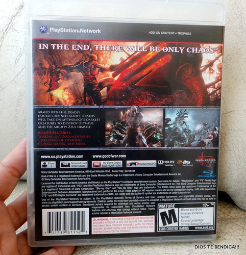 ps3 god of the war