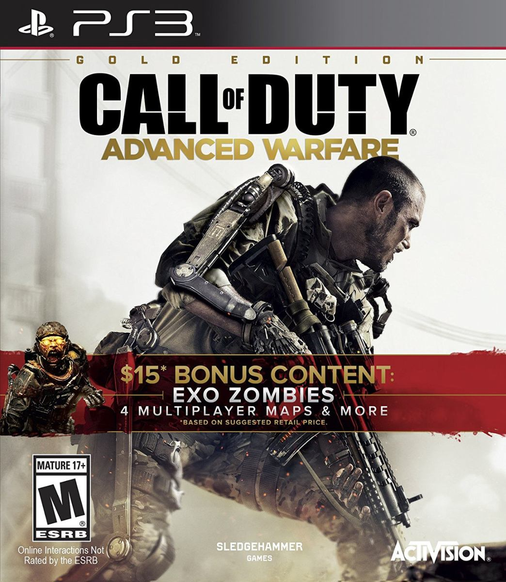 Ps3 Juego Cod Advanced Warfare Exo Zombies Playstation 3 999 00