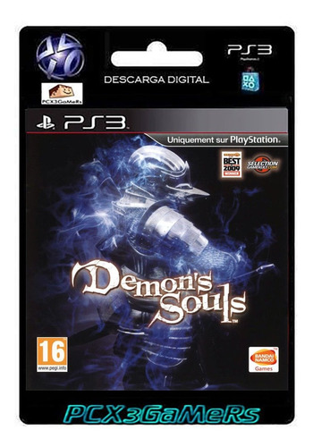 ps3 juego demon's souls pcx3gamers