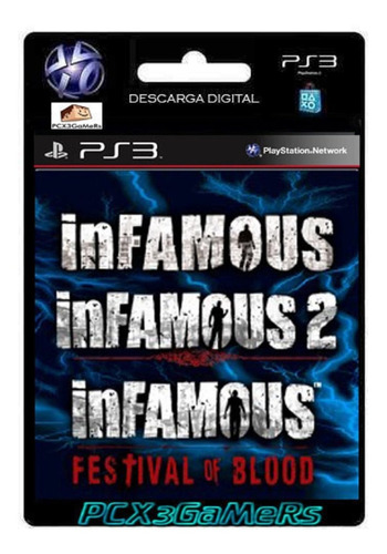 ps3 juego infamous collection pcx3gamers