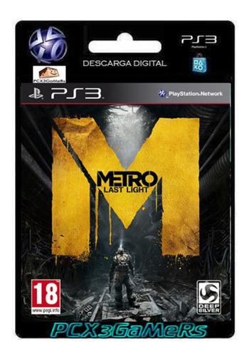 ps3 juego metro: last light pcx3gamers