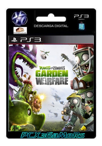 ps3 juego plants vs. zombies garden warfare pcx3gamers