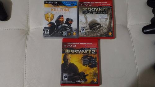 ps3 juegos) resistance