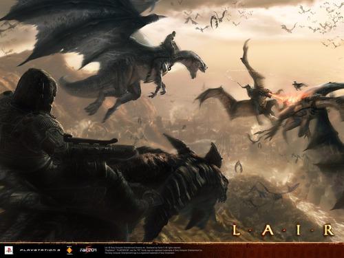 ps3 lair impecable juego dragones no lo pierdas playstation