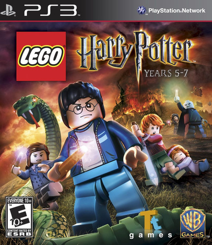 ps3 lego harry potter 5-7 juego digital 10gb
