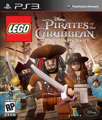 ps3 lego piratas do caribe psn playstation 3 pronta entrega