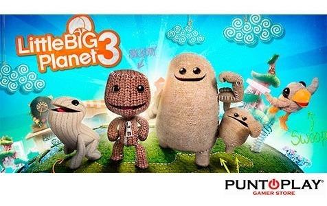 ps3 little big planet 3 juego digital 9gb entrega inmediata