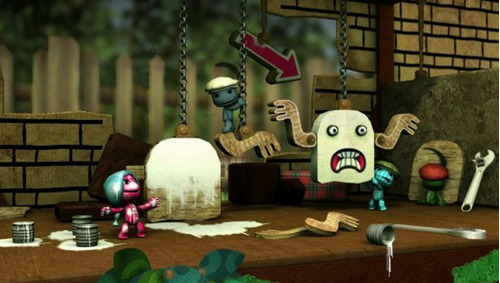 ps3 move little big planet 2 special pack nuevo sellado maa