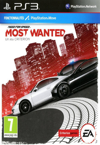 ps3 need for speed most wanted juego digital 5gb