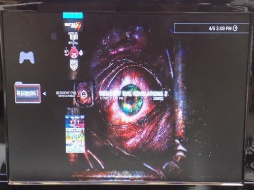 ps3 play 3 superslim, 1 control,10 juegos,hdmi, caja dd 500g