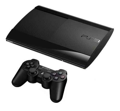 ps3  play station 3 250 gb + 55 juegos digitales: super slim
